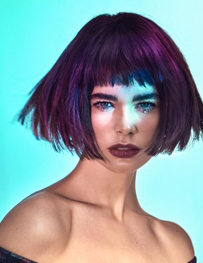 Color Emotion corte pelo estilo Indigo Llongueras